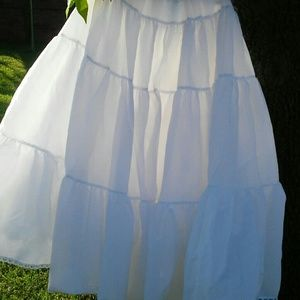 Ball gown three tier Petticoat 40 in Long
